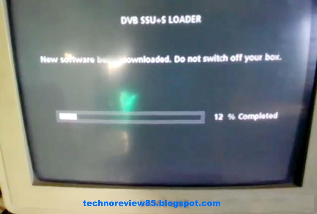 How to update tatasky set top box manually