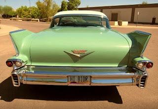1958 Cadillac Coupe de Ville Rear
