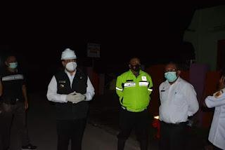 Bupati Tinjau Jalan Nasional Sidikalang-Medan Yang Putus Total, Kendaraan Besar Dialihkan dari Tiga Binanga