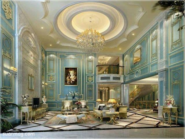 ديكورات جبس اسقف راقيه كلاسيك 3   Classic Gypsum Ceiling 3