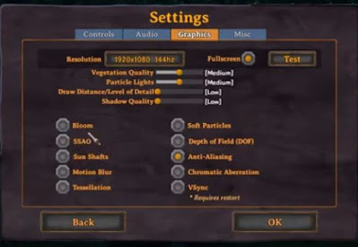 Best Settings, Run Valheim Smoothly, High End PC, Low End PC