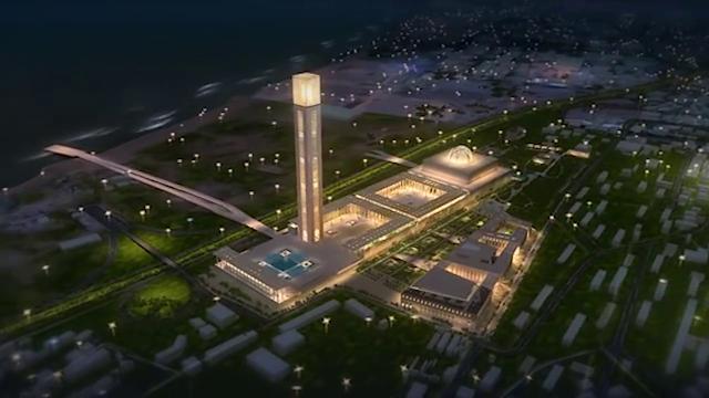 ثالث أكبر مسجد فى العالم فى الجزائر