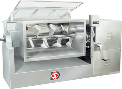 Picture of mass mixer machine
