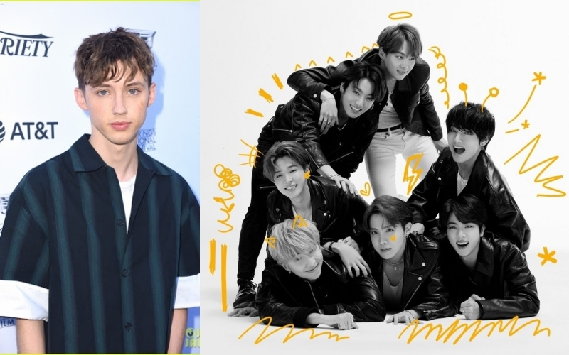 Troye Sivan Admit Participates in Writing One of BTS Song on the 'Map of the Soul: 7' album