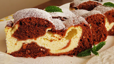 Mramorni kolač sa sirom / Marble Cheese Cake