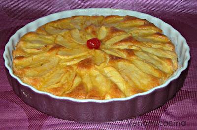 Tarta de manzana sin gluten
