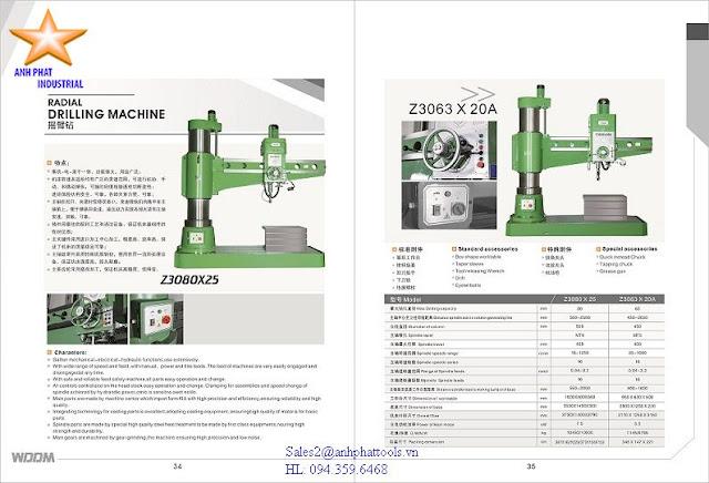 Máy Khoan Cần Cao Cấp Thương Hiệu WDDM 5.5kw - 7.5kw