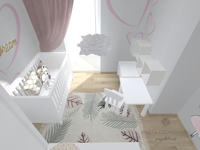 Mały pokój malucha - meble Allpin Novelies