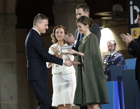 King Felipe and Queen Letizia of Spain attend ceremony of 2016 National awards for Innovation and Design