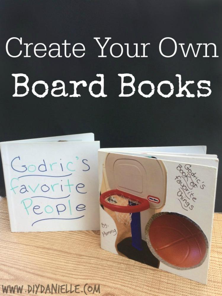 Easy DIY Board Book Ideas!
