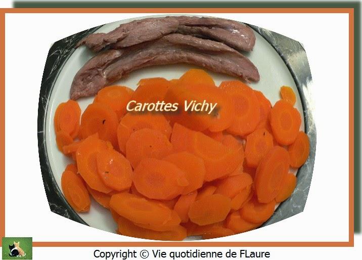 Vie quotidienne de FLaure: Carottes Vichy