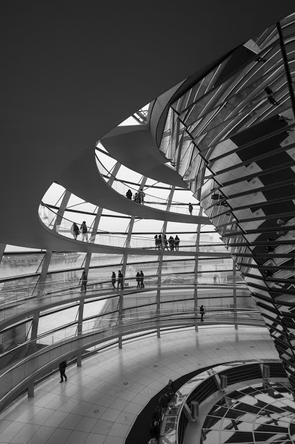 Cupola del Reichstag-Berlino