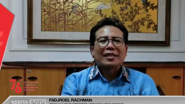Fadjroel: Jokowi Tegak Lurus Masterpiece Reformasi, Tolak Wacana Perpanjangan dan Presiden 3 Periode