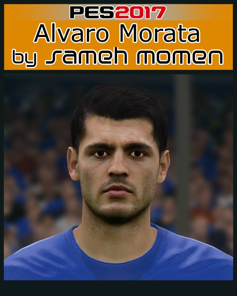 Pes 2017 L Moura Face By Sameh Momen: Ultigamerz: PES 2017 A. Morata Face 01/02/2018