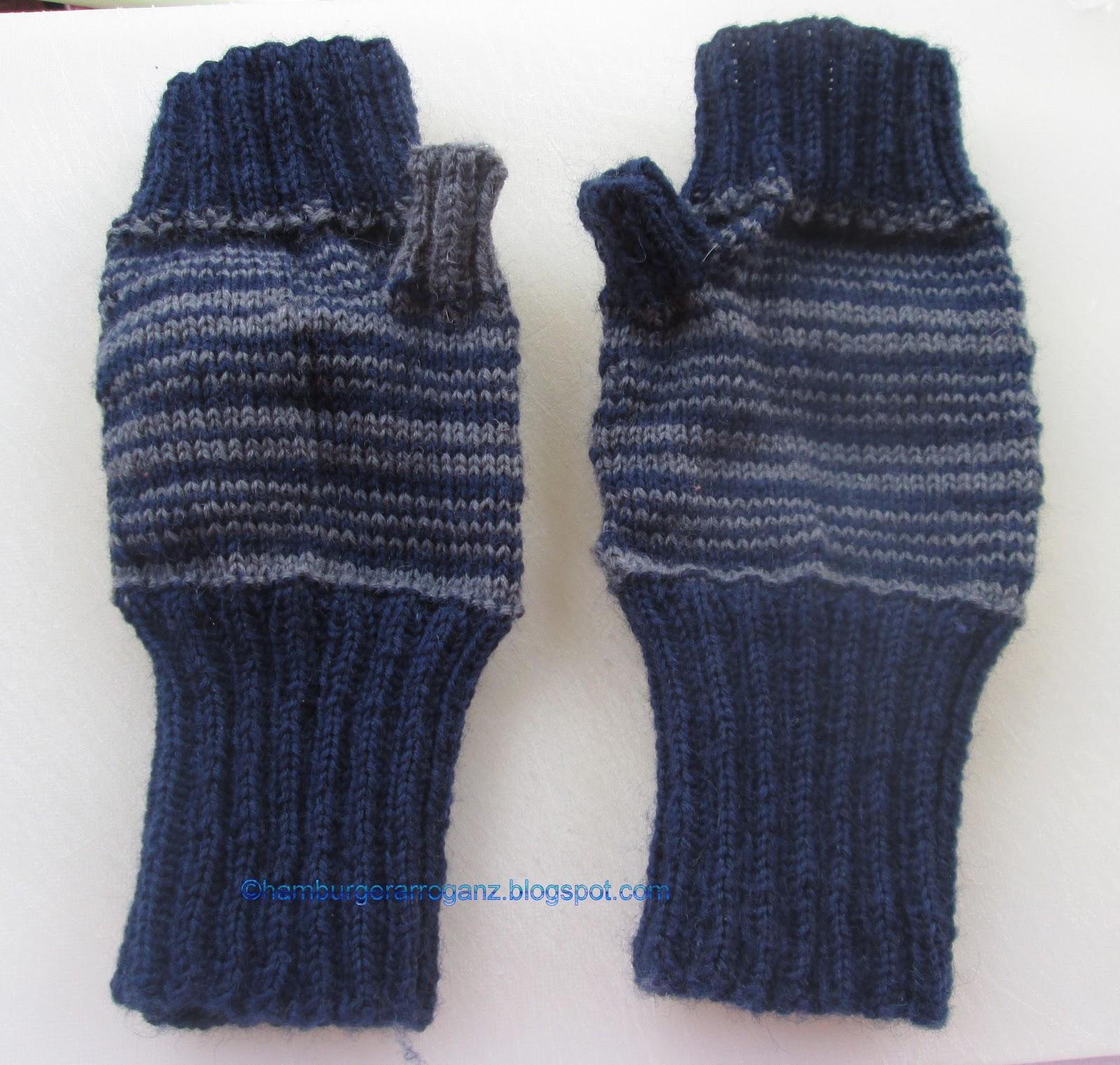 Hamburger Arroganz: Armstulpen / Handstulpen / fingerlose Handschuhe ...