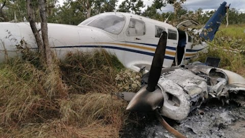 Mysterious Aircraft Crashed Due To Excess Cocaine Onboard