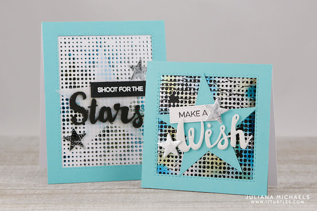 Cards by Juliana Michaels featuring Therm O Web Deco Foil Scraps and Transfer Gel