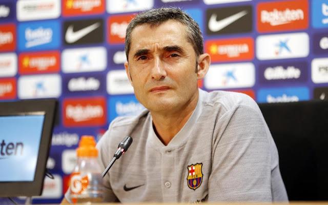 Kocha Wa Barcelona Ernesto Valverde