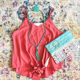 coral cami s-2x