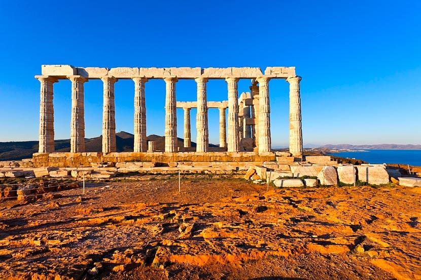 Temple of Poseidon Sounion 7