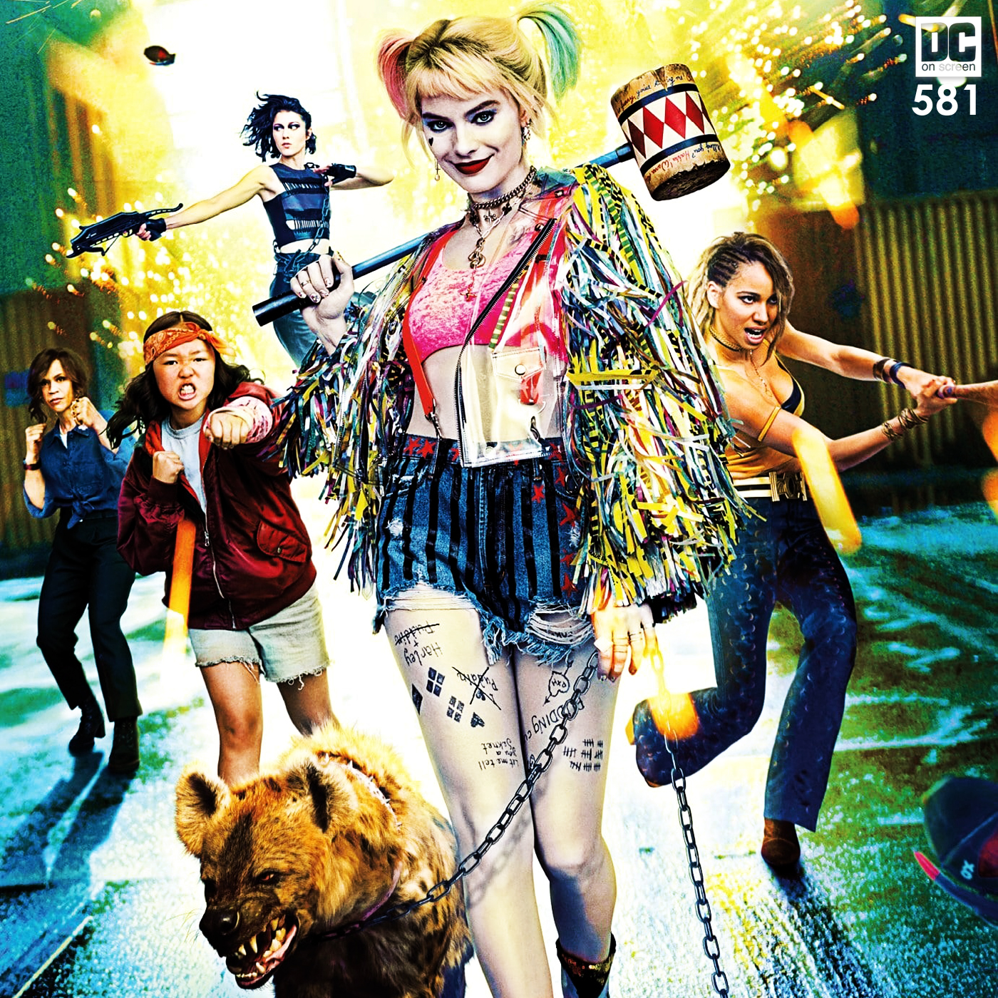 Dc On Screen Podcast Review Harley Quinn Birds Of Prey And The Fantabulous Emancipation Of One