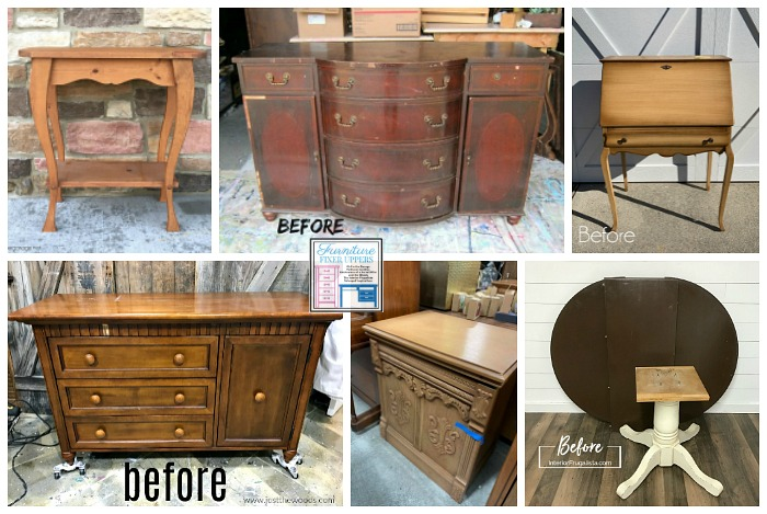 Furniture Fixer Uppers January 2020 Challenge - Furniture Makeovers