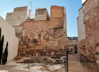 Sagunto, restos del Templo de Diana.