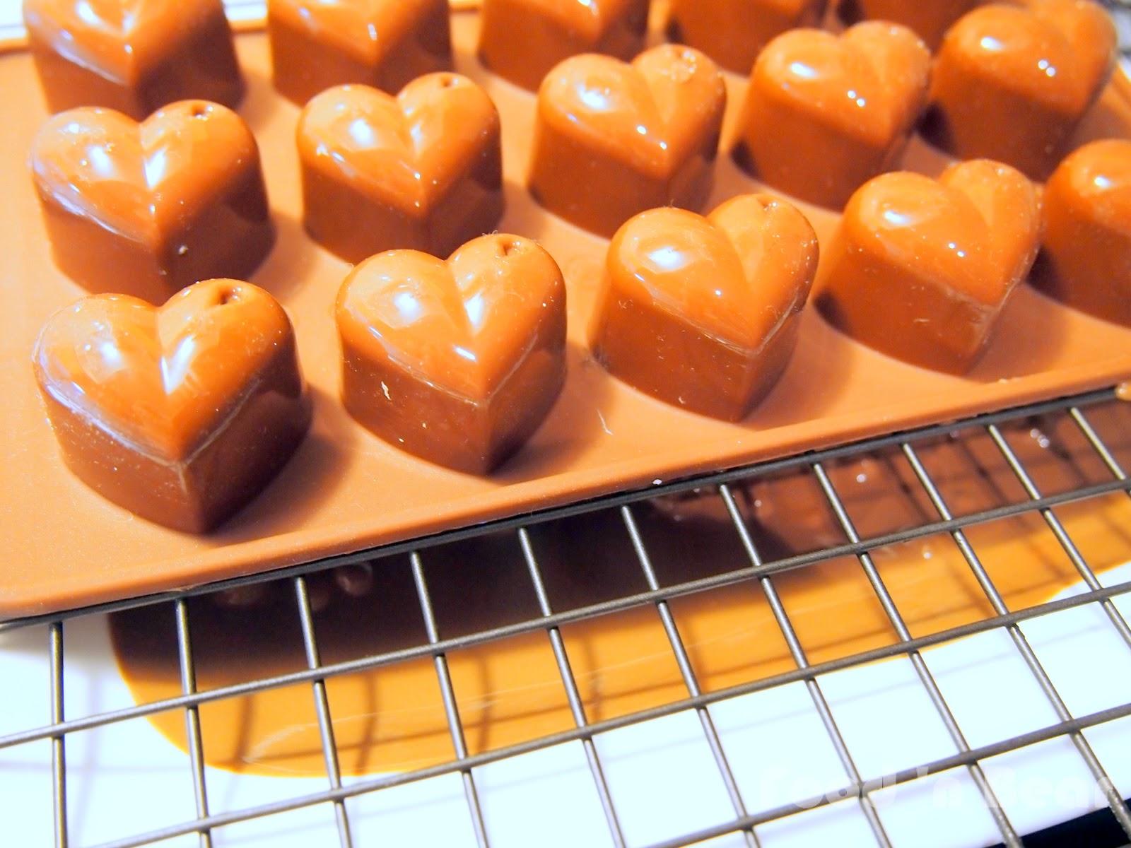 Food N Bear Chocolate Truffles With Strawberry Cream