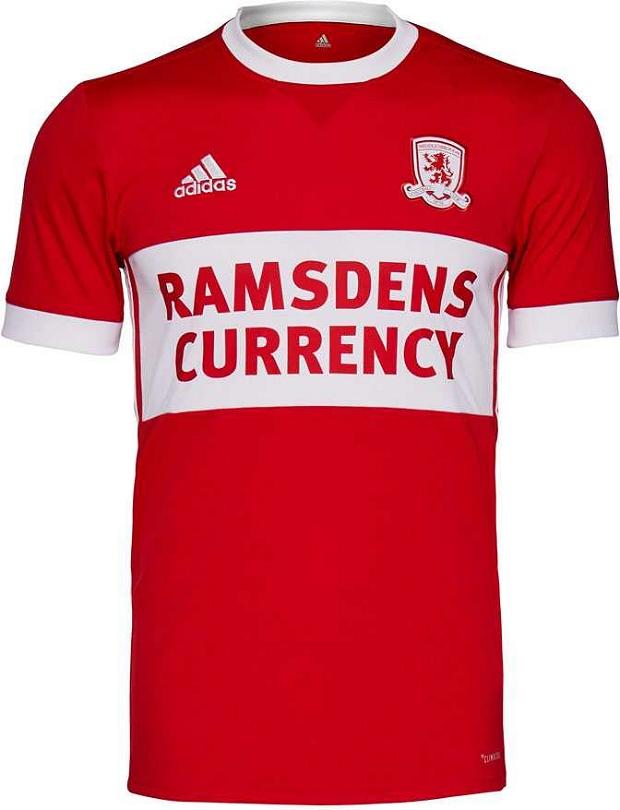 Adidas divulga as novas camisas do Middlesbrough - Show de Camisas 57827310ad832