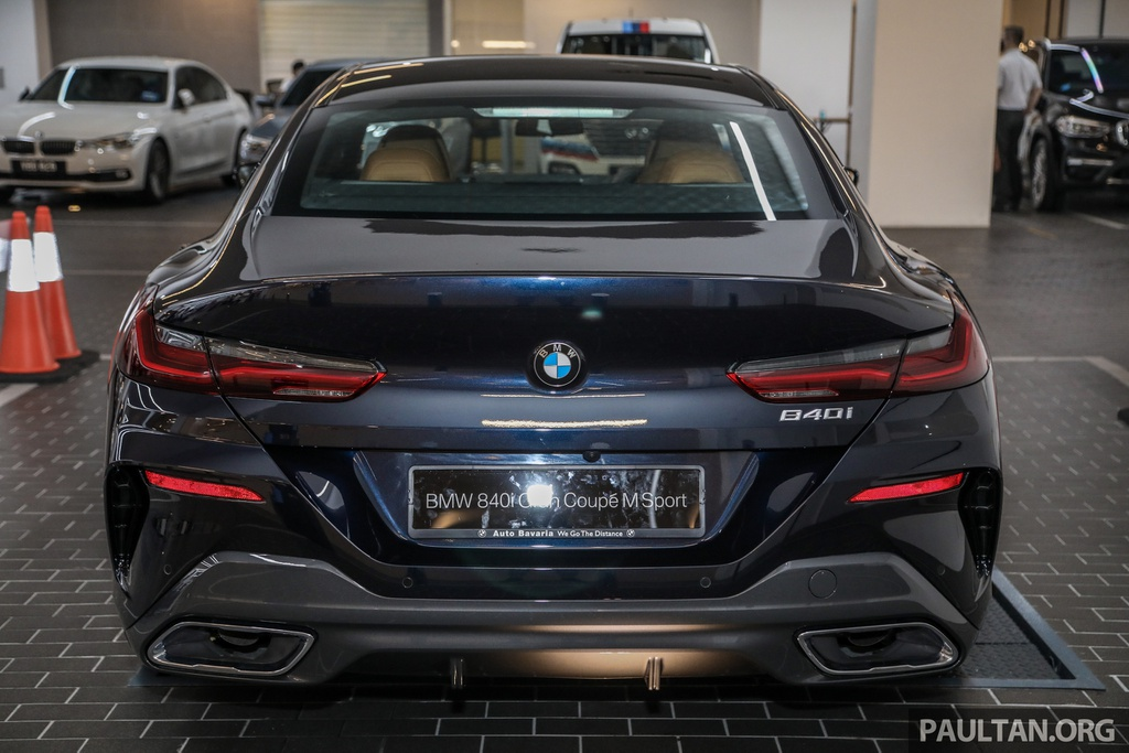 BMW 840i Gran Coupe M Sport 2020 trình làng tại Malaysia
