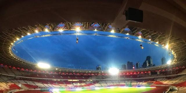 Lihat Kemegahan Baru Stadion Gelora Bung Karno, Timnas Islandia Sampai Terkagum-kagum