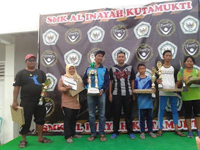 Diikuti Lebih 20 Sekolah, SMK AL Inayah Gelar Sakti Cup 2018