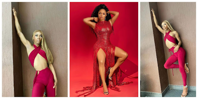 James Brown is my spirit animal— Toke Makinwa supports James as trolls mocked him for packing his manhood well in his feminine outfit