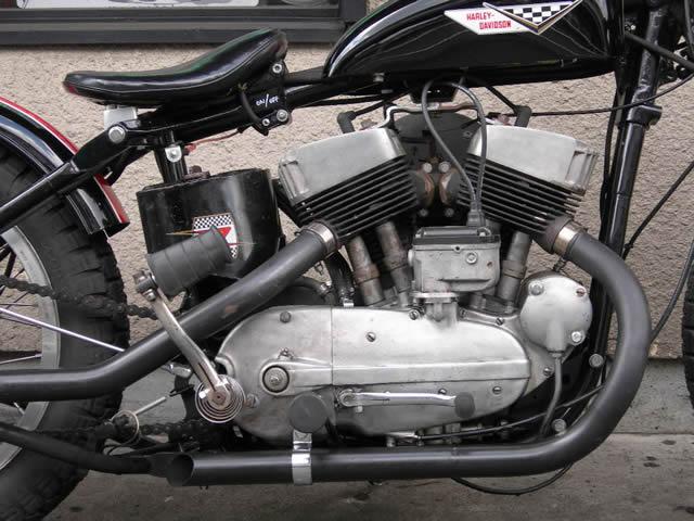 Harley Davidson KH900 1956 By East Urban Custom Cycles Hell Kustom