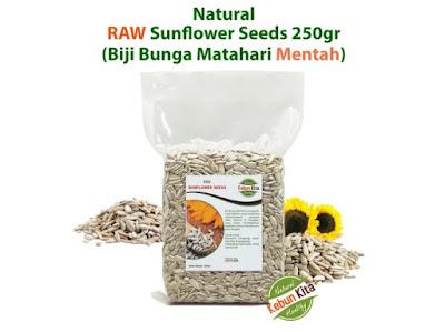 Sunflower Seeds 250gr (Biji Bunga Matahari)