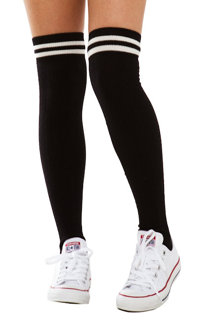 thigh high socks images