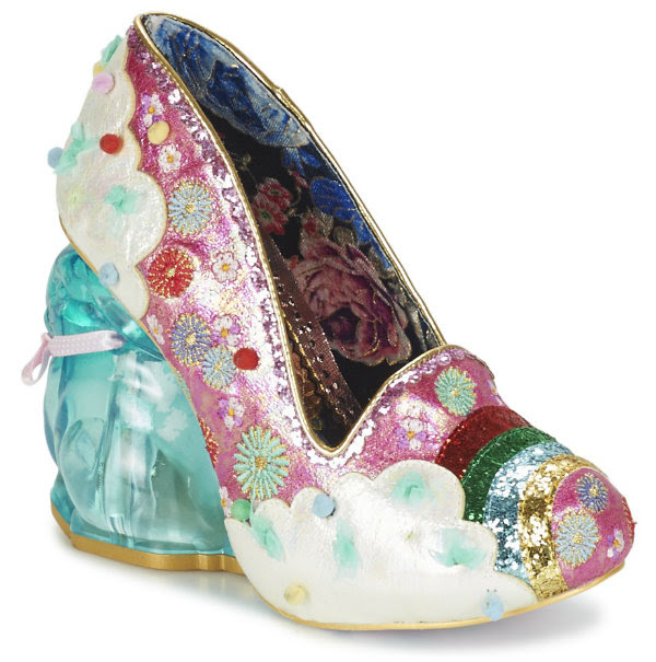 Irregular Choice rainbunny bunny pink