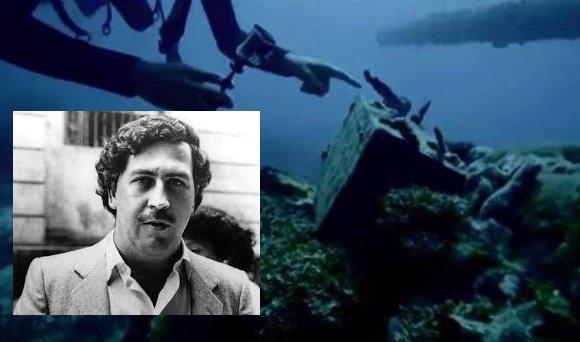 """Video: Ex- Agentes de la CIA localizan """"narcosubmarino"""" de Pablo Escobar...podría contener """"narco-tesoro"""""""