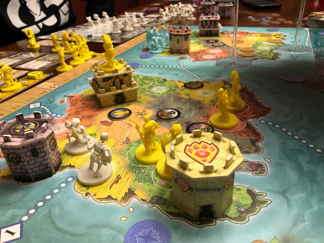 Heroes of Land, Air & Sea Gamelyn Games Order and Chaos Expansion Gameplay; Photo by Benjamin Kocher 2020