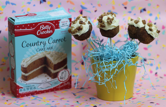 Carrot Cake Pops Betty Crocker