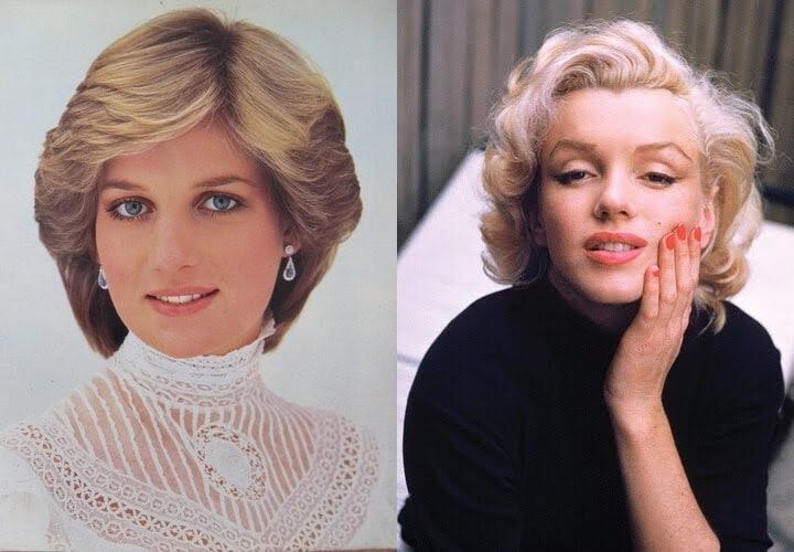 Princess Diana Marylin Monroe