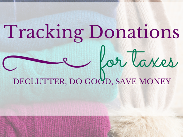 Financial Tip of the Month: Tracking Donations for Tax Purposes
