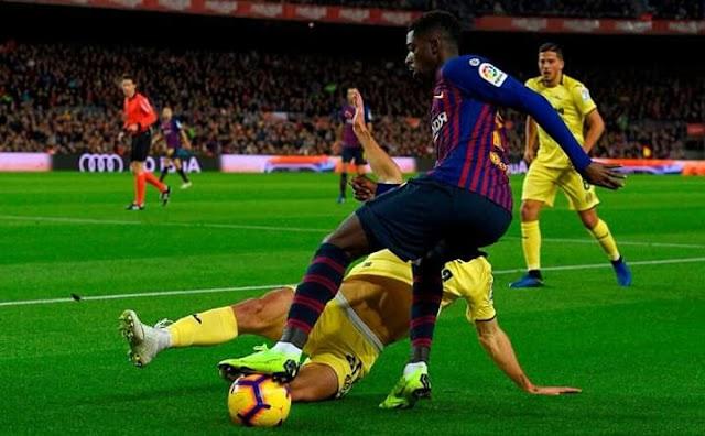 ملخص مباراة برشلونة ضد فياريال الدوري الاسباني