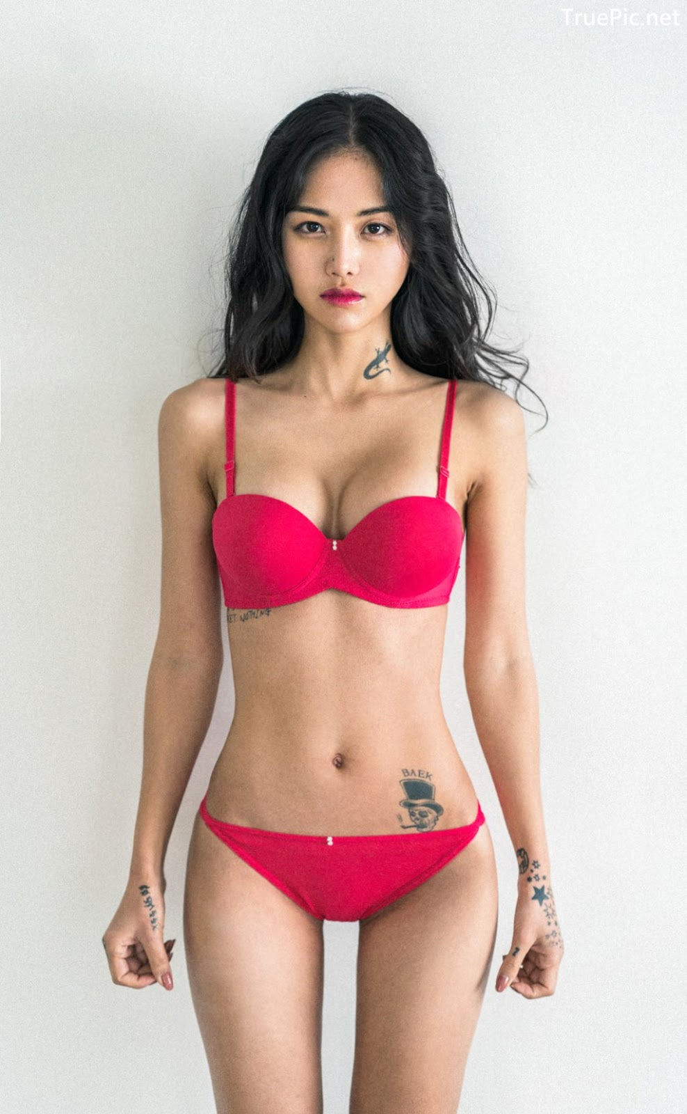 Image Korean Fashion Model – Baek Ye Jin – Sexy Lingerie Collection #3 - TruePic.net - Picture-1