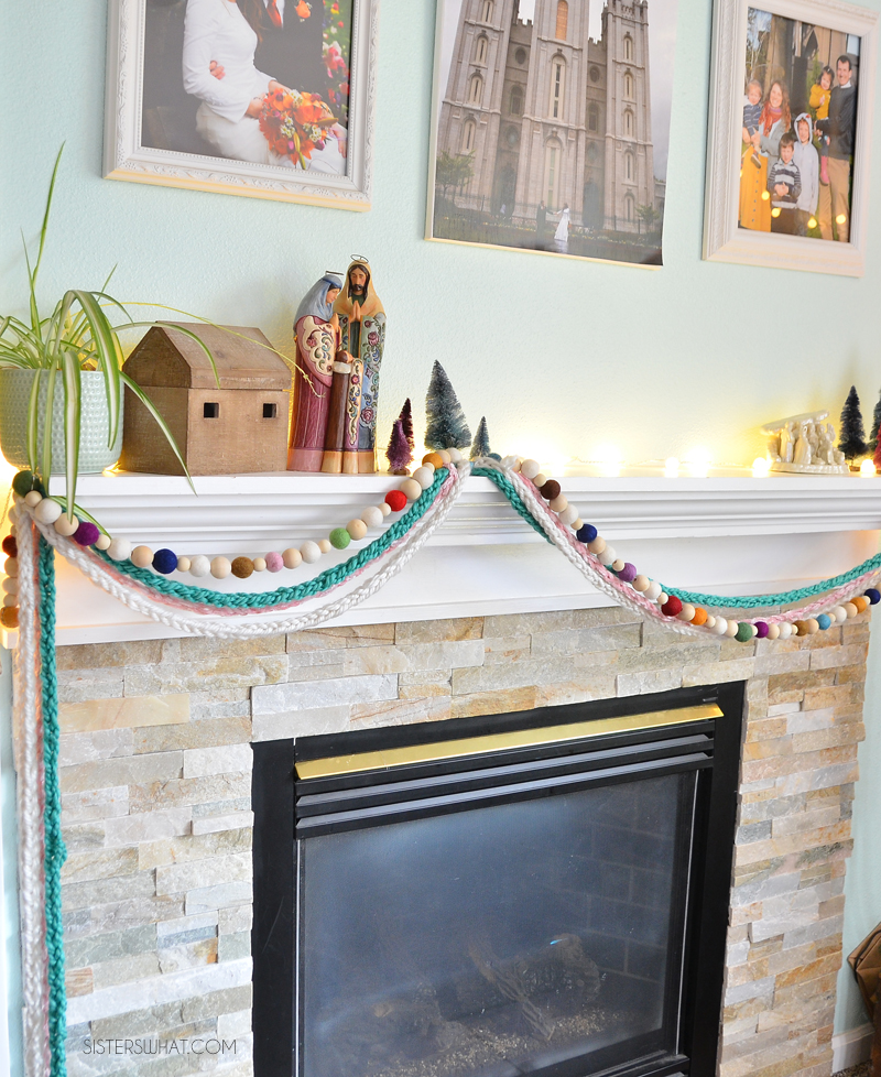 simple homemade christmas garland