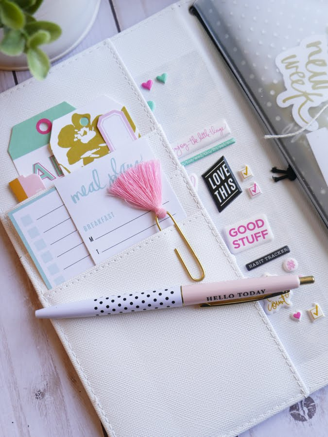 How To Plan For The Next Month with Heidi Swapp Journal Studio by Jamie Pate | @jamiepate