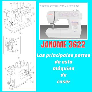 Maquina de coser Janome 3622