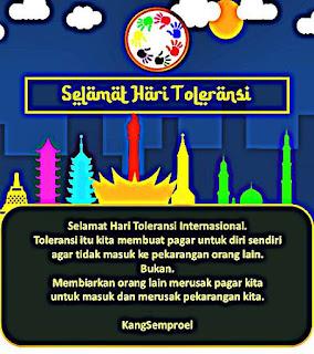 gambar kata kata toleransi
