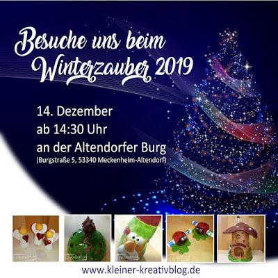 https://www.kleiner-kreativblog.de Winterzauber