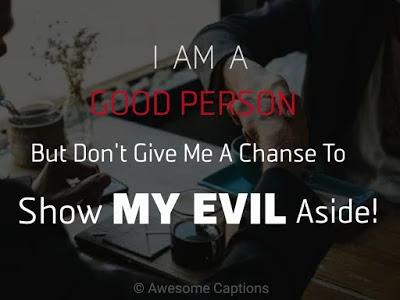 attitude captions in english